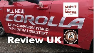 2019 NEW Toyota Corolla Hybrid Test UK