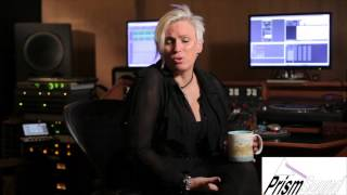 Mandy Parnell interviewed in her studio Black Saloon