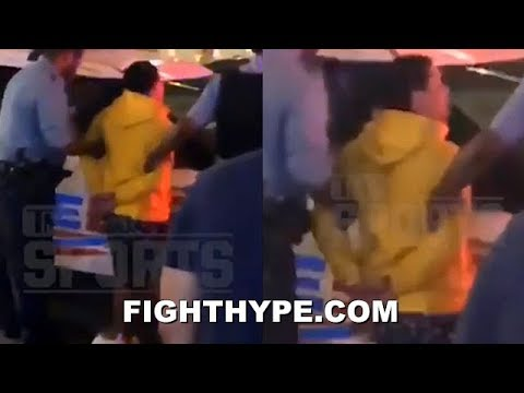GERVONTA DAVIS ARRESTED AFTER PUBLIC STREET FIGHT; CHARGED WITH DISORDERLY CONDUCT