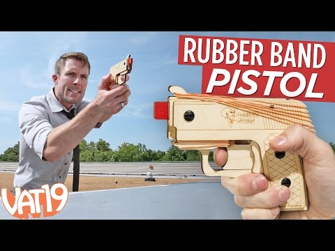 Semi-auto Rubber Band Pistol