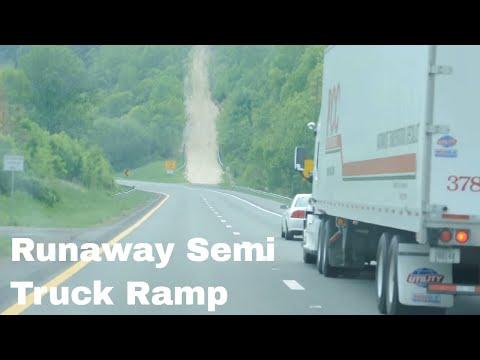 Semi Truck Ramps Runaway Semi Truck Ramp