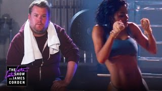 Don't Exercise in Kanye West's Gym by : The Late Late Show with James Corden