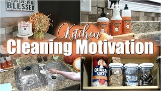 CLEANING MOTIVATION//KITCHEN CLEANING ROUTINE//CLEAN WITH ME 2018-FALL