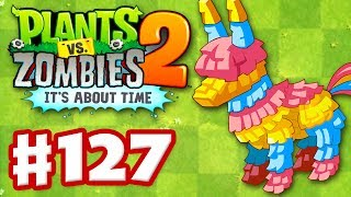 Plants vs. Zombies 2: It's About Time - Gameplay Walkthrough Part 127 - Piñata Party (iOS)