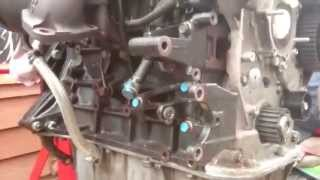 Power steering, alternator bracket KIA Sedona 2.9