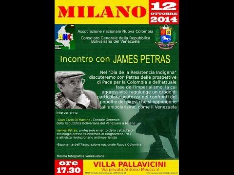 Incontro con James Petras - Milano -12/10/2014 (in spagnolo)