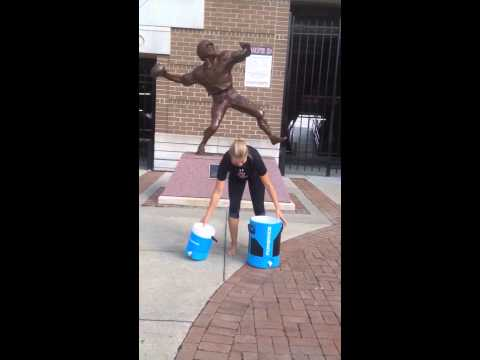 Coach Angel Completes Ice Bucket Challenge