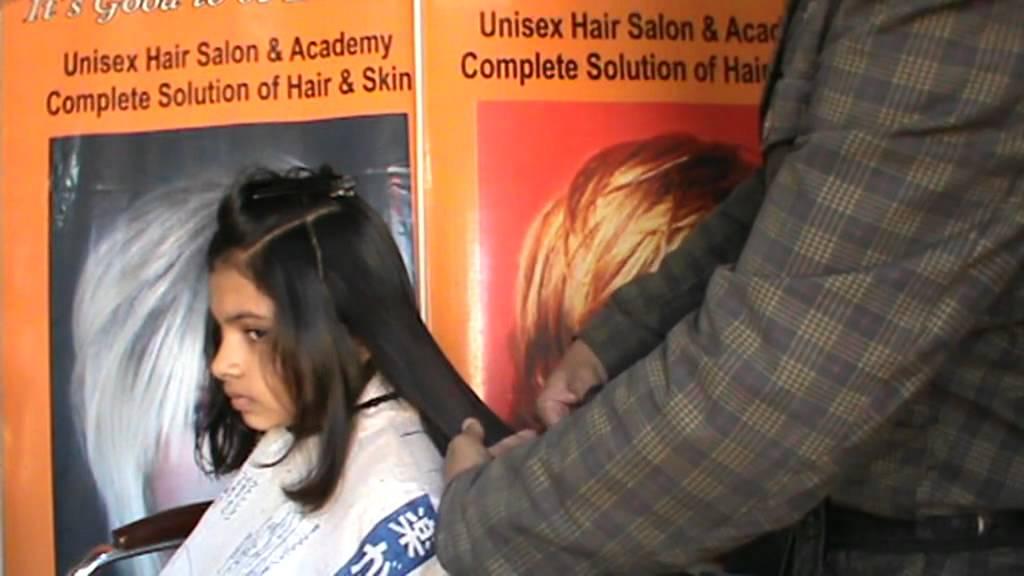 U Shaped Haircut For Medium Hair U cut Hair cut video