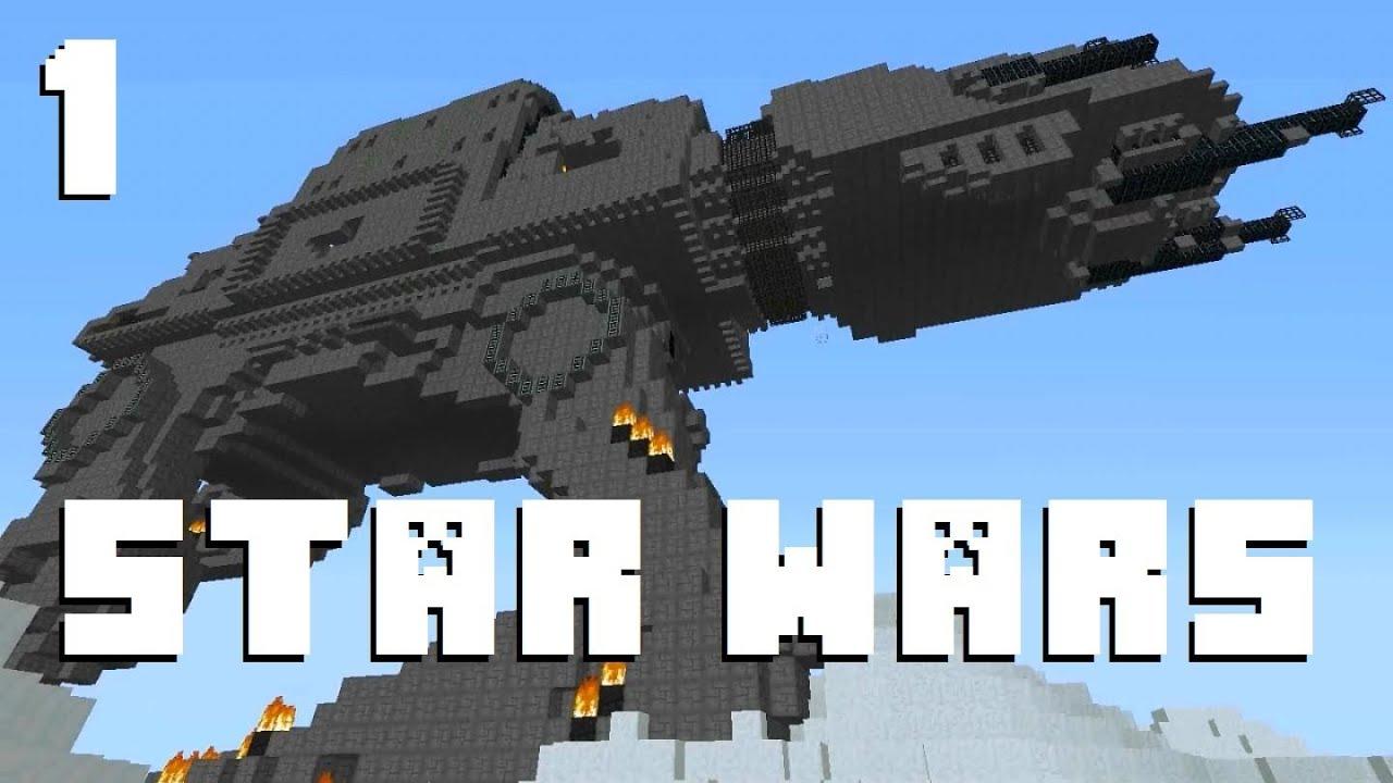 minecraft aventure star wars episode 1 youtube. Black Bedroom Furniture Sets. Home Design Ideas