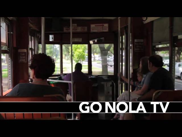 A St. Charles Streetcar Ride Through New Orleans
