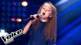 """Nikola Smutek - """"Znowu pada deszcz"""" - Przesłuchania w ciemno - The Voice Kids 2 Poland"""