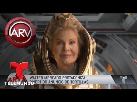 Walter Mercado protagoniza anuncio publicitario | Al Rojo Vivo | Telemundo