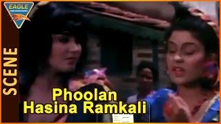Phoolan Hasina Ramkali Movie    Kirti Singh, Sudha Chandran Nice Action Scene    Eagle Hindi Movies
