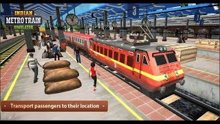 Indian Metro Train Simulator [Inside The Train] Android Gameplay
