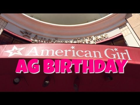 My Birthday at American Girl Place