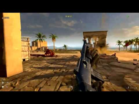 Serious Sam 3 Jewel of the Nile playthrough level 1 (Gathering of the Gods)