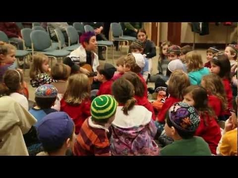 """ShirLaLa sings """"You Are, You Are"""" with the Milwaukee Jewish Day School - 01/18/2012"""
