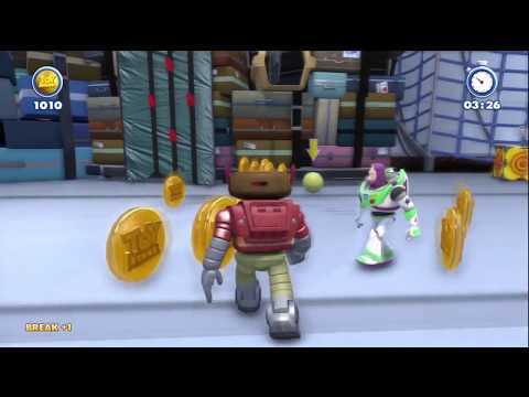 2nd level Airport Insecurity on Toy Story from Kinect Rush A Disney Pixar Adventure