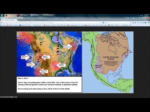 5/05/2014 -- West Coast Volcanic Unrest -- Yellowstone (Idaho) EQ swarm @ ABANDONED MINE