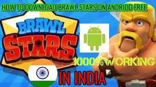 HOW TO DOWNLOAD ⚡BRAWL STARS🌎 IN INDIA FOR FREE