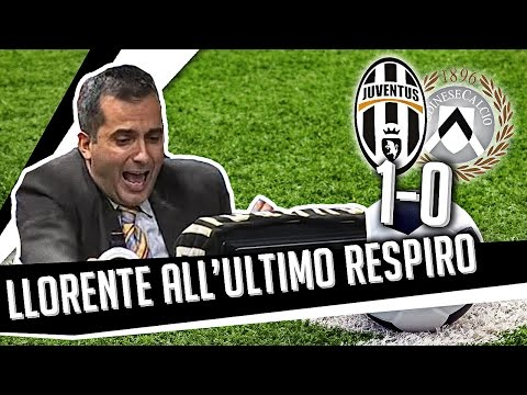 DS 7Gold - (JUVE UDINESE 1 0) Llorente all'ultimo respiro