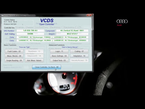 Auto Locking, Signals and Chirps VCDS