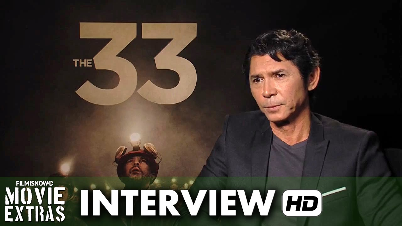 The 33 (2015) Official Movie Inteview - Lou Diamond Phillips