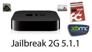How to install XBMC on Apple Tv 2G iOS 5.1.1 / 5.0.1 (XBMC Eden 11)