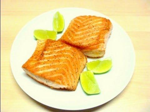 Pan Seared Salmon Crispy On The Outside Moist On The