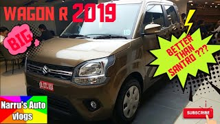 Maruti Suzuki Wagon R 2019 । Interior and Exterior । Real review in Hindi । Narru'sautovlogs ।