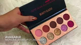 Beauty Glazed Glitz And Glam Palette Swatches