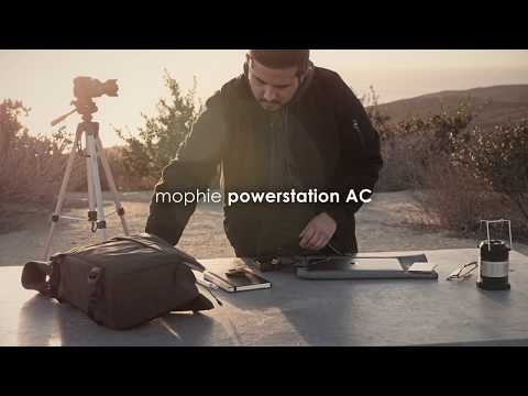 Mophie Powerstation AC: 22000mAh battery pack with standard A/C socket