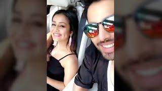Neha Kakkar and Himansh Kohli live in Car for Oh Humsafar   new song