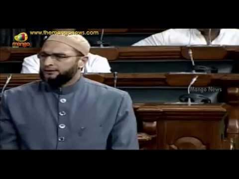 MIM MP Asaduddin Owaisi Praises Minister Sushma Swaraj | Questions PM Narendra Modi