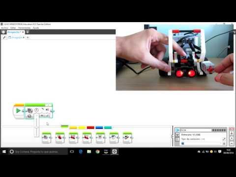 Lego Mindstorms Ev3:  Motor Mediano
