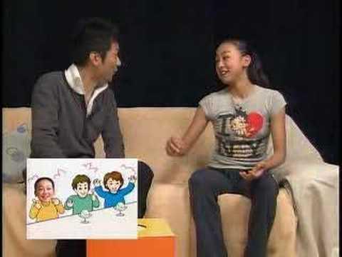 Mao Asada mao-chan interview (2006.July)