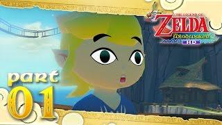 The Legend of Zelda: The Wind Waker HD - Part 1 - Outset Island