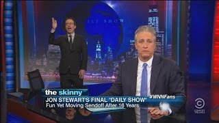 "Jon Stewart's Last Night On ""The Daily Show"" 