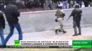 Aparece video que confirma la llegada de mercenarios de Blackwater a Ucrania