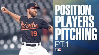 2019 MLB Position Players Pitching (Part 1) | MLB Highlights