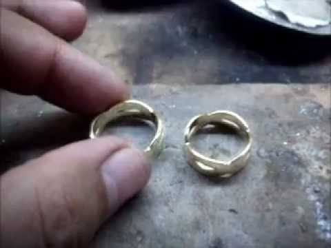 JEWELRY CUSTOMIZER (Video 4) Making of 14 karats Infinity couple ring