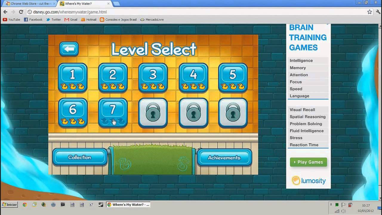 Como jogar Angry Birds, Cut the Rope, Where's my water ...