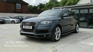 Grey Audi Q7 CE14