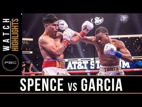 Spence vs Garcia HIGHLIGHTS: March 16, 2019 - PBC on FOX PPV