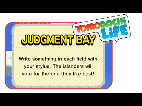 Judgement Bay | Tomodachi Life