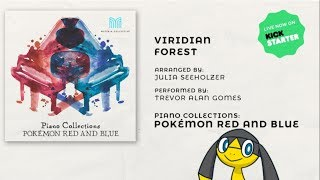 Piano Collections: Pokémon Red & Blue Studio Album EXCLUSIVE PREVIEW ~ Viridian Forest