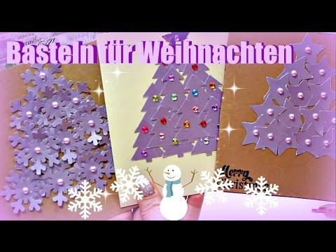 Bastelideen Zu Weihnachten 3d Weihnachtskarten Machen Pop Up