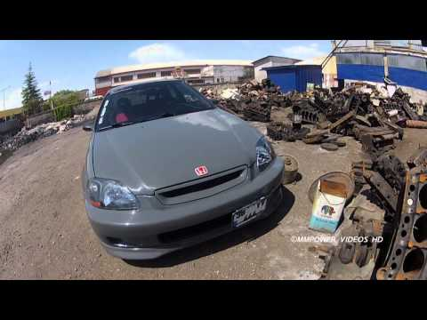 MMPower Honda Civic HB EK4 K20 JDM (SmokeSilver) Project