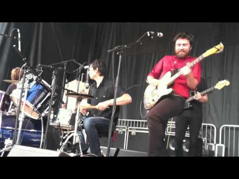 Wilco's Glenn Kotche drums with Liam Finn -