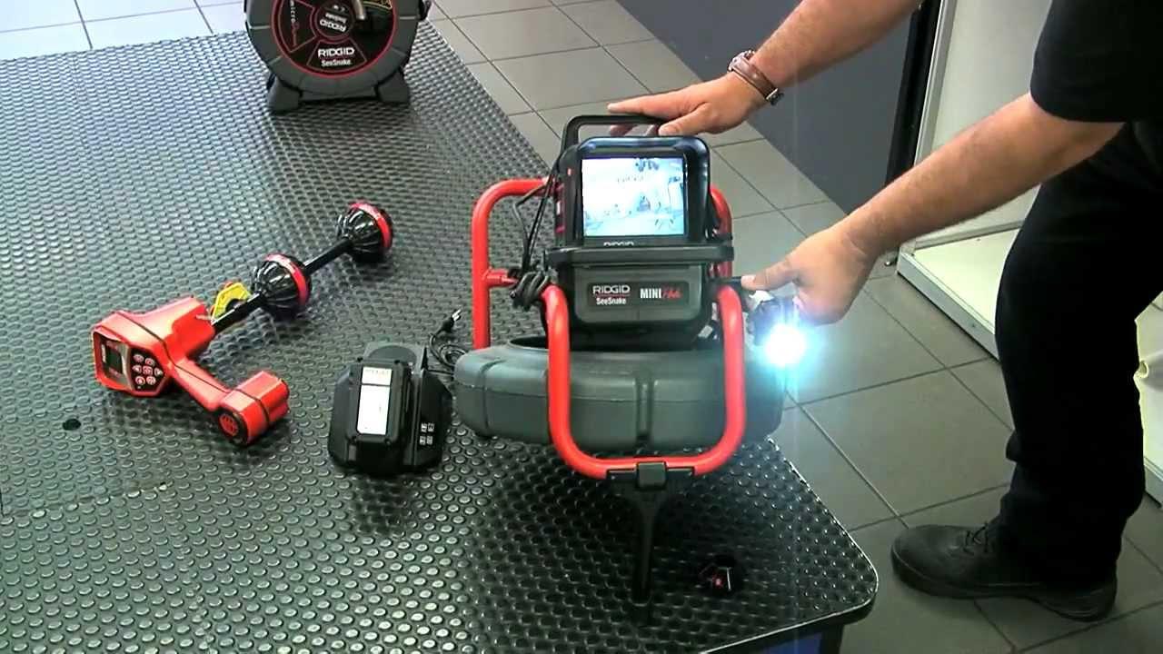 Ridgid Drain Inspection Camera 32948 Colour Compact